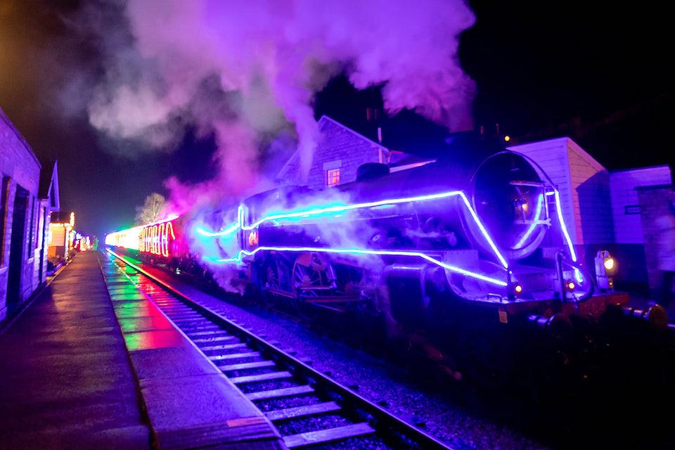 Light spectacular North Yorkshire Moors railway - half term activity
