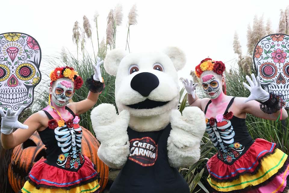 half term activities - creepy carnival yorkshire wildlife park