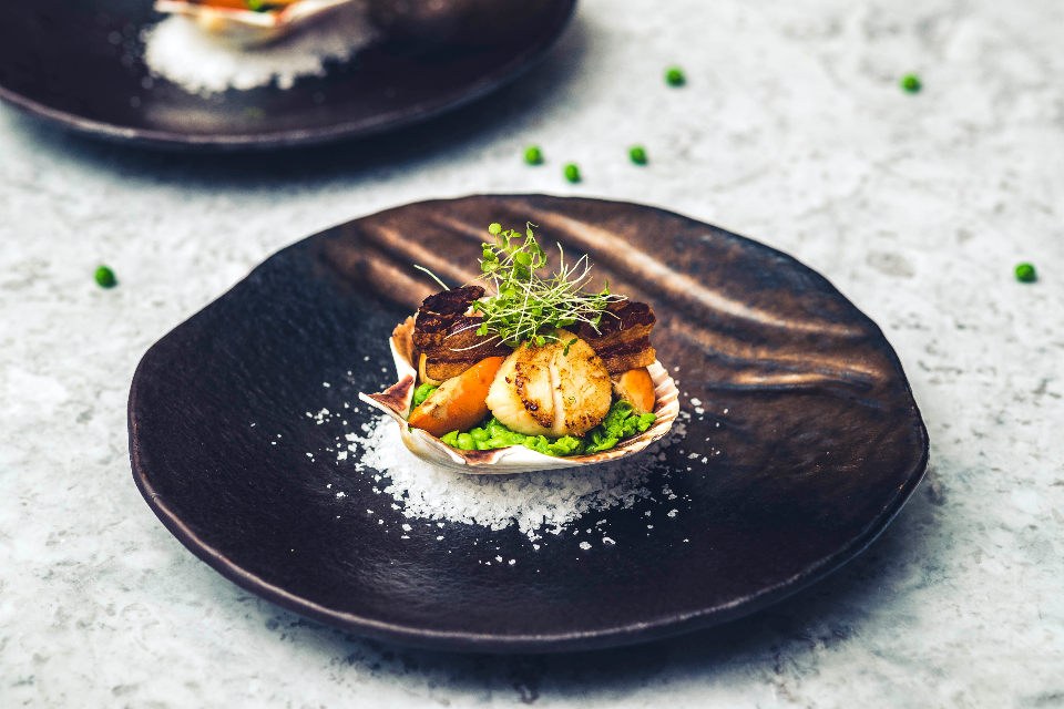Pan-Fried Diver Caught Scallop Recipe from The Cookery School at The Grand York