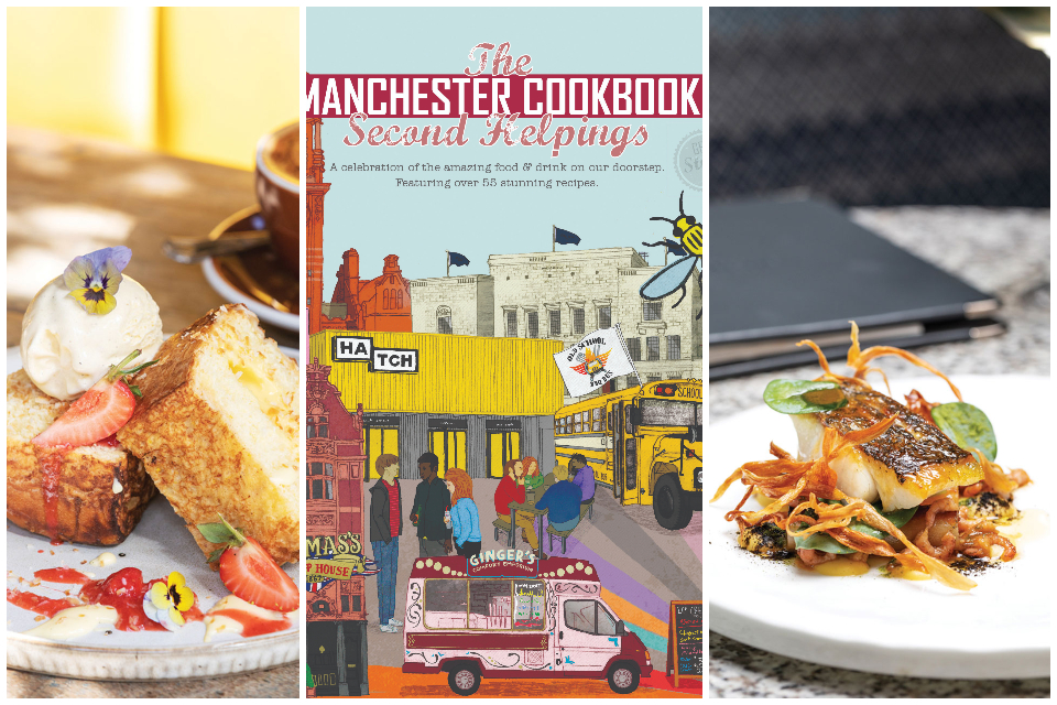The Manchester cookbook second Helpings cover