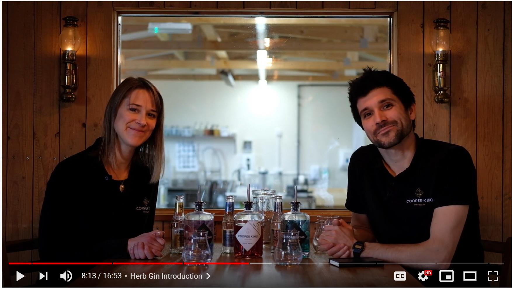 Cooper King Distillery Virtual Tasting Video