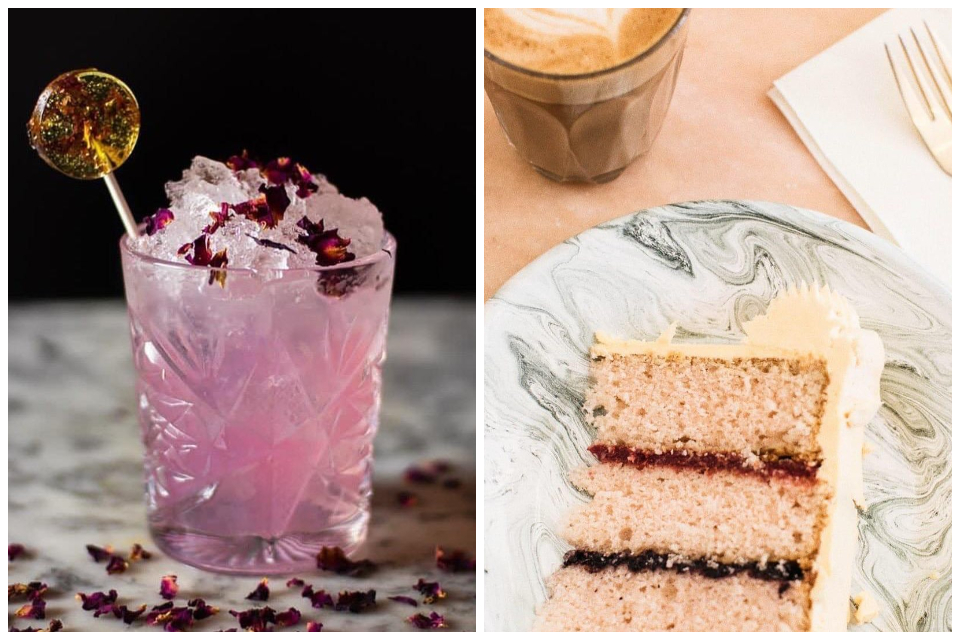 Impossible York cake and cocktails