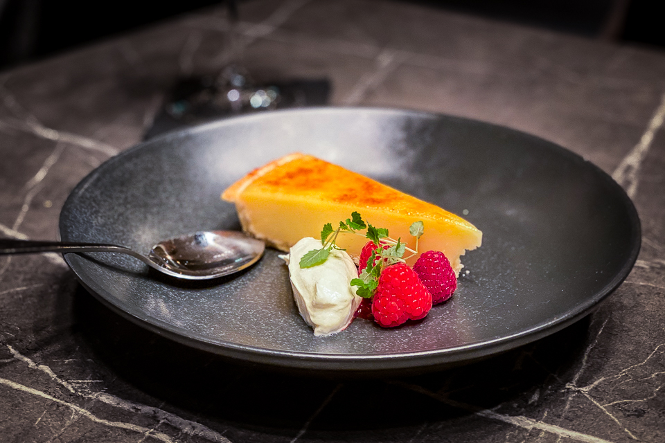 Pickled Sprout Harrogate dessert course