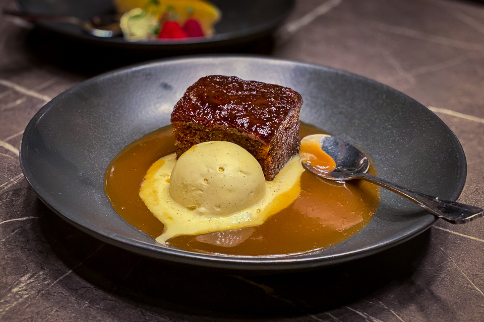 Pickled Sprout Harrogate sticky toffee pudding