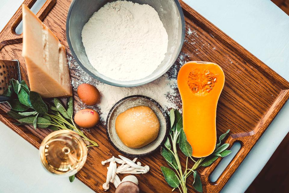 Ravioli of Butternut Squash Recipe _ The Cookery School at The Grand