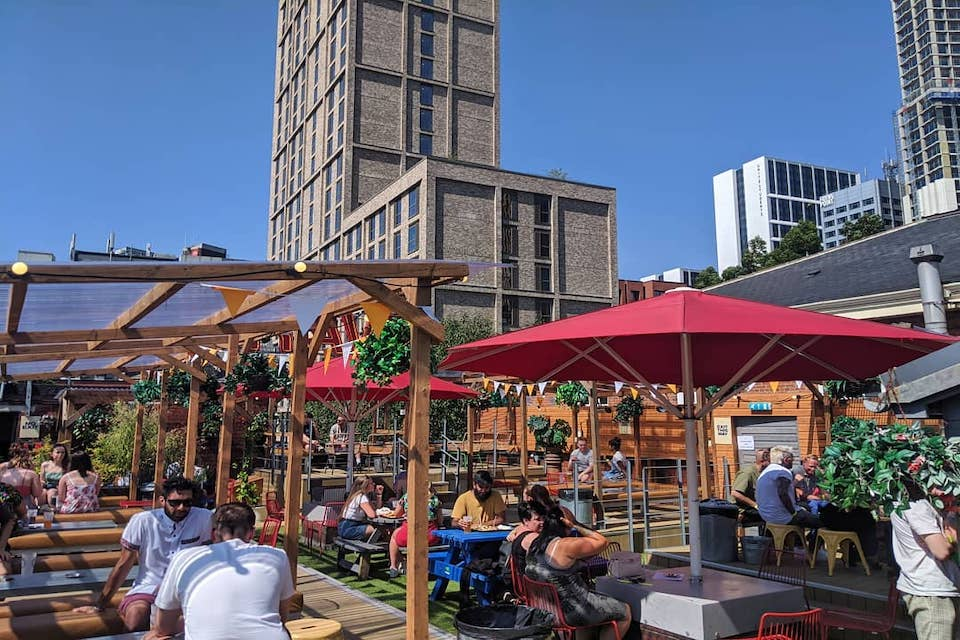 Belgrave - Best beer gardens in Leeds