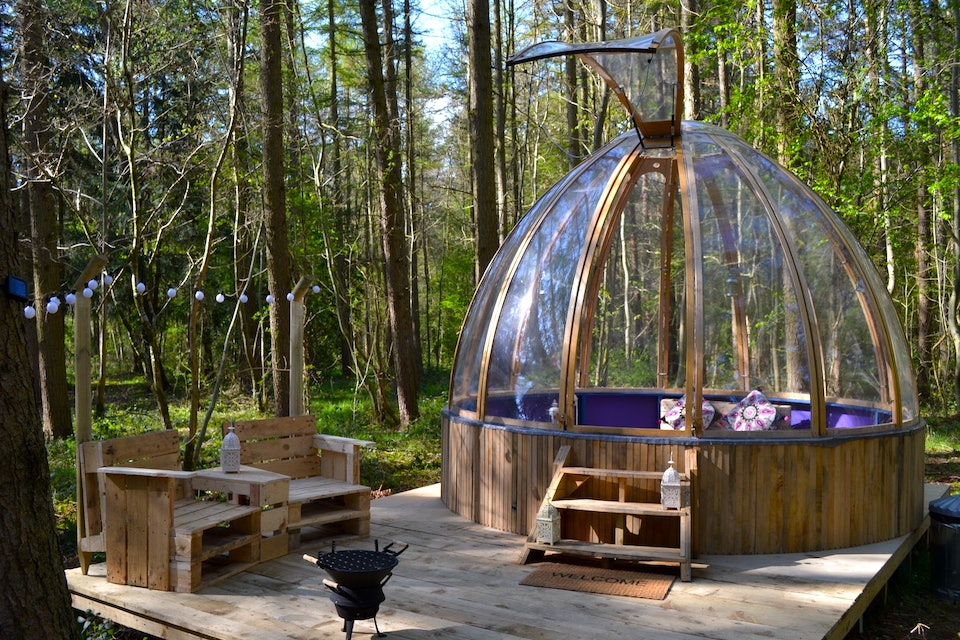 Camp Katur Domes - 21 Unusual Places To Stay in Yorkshire
