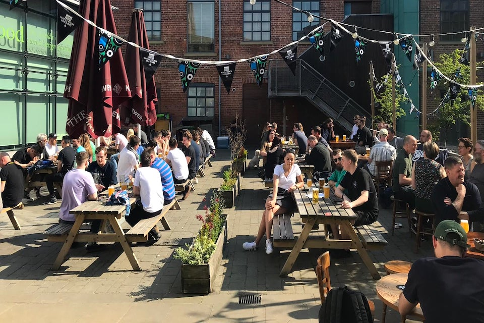 Cross Keys - Best beer gardens in Leeds