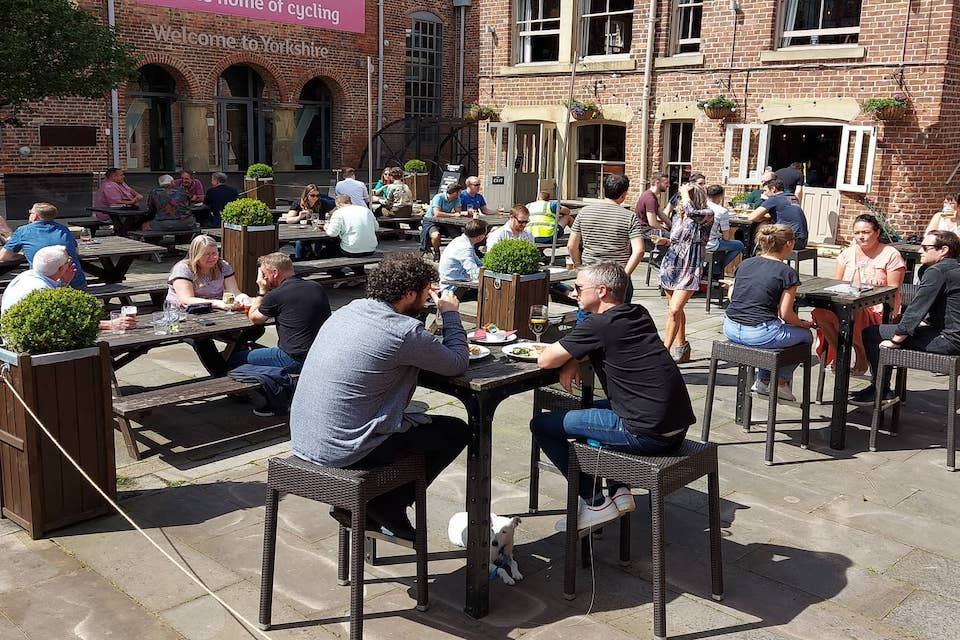 Midnight Bell - Best beer gardens in Leeds