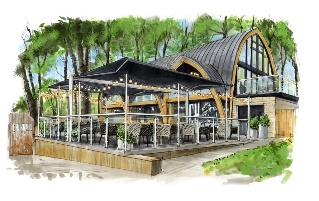 New Chophaus terrace opening in april