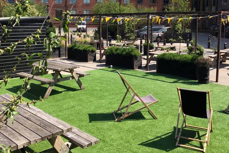 Northern Monk - Best beer gardens in Leeds