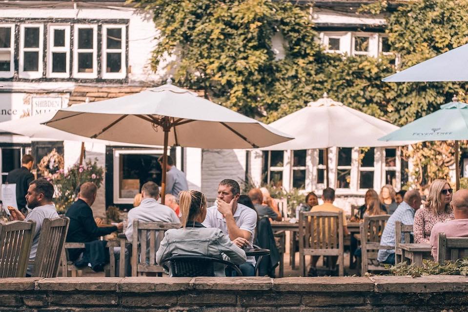 Shibden Mill Inn Halifax Outdoor Dining