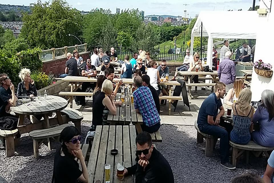 The Brothers Arms - Sheffields best beer gardens