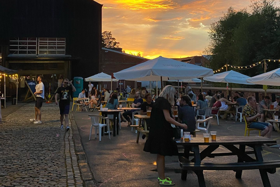 The Millowners Arms - Best beer gardens in Sheffield
