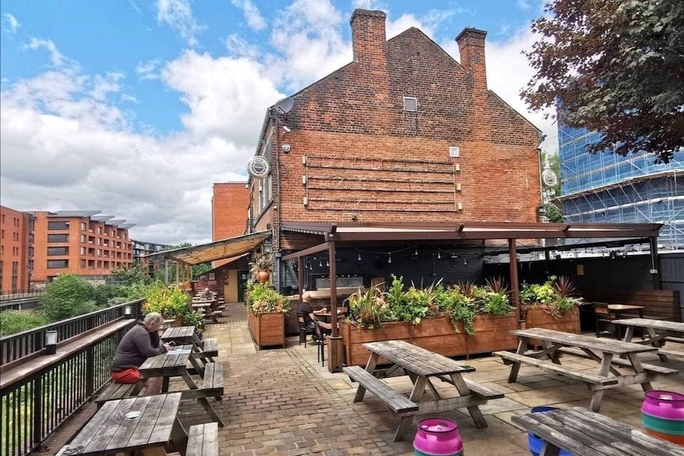 The Riverside Kelham. Best beer gardens in Sheffield