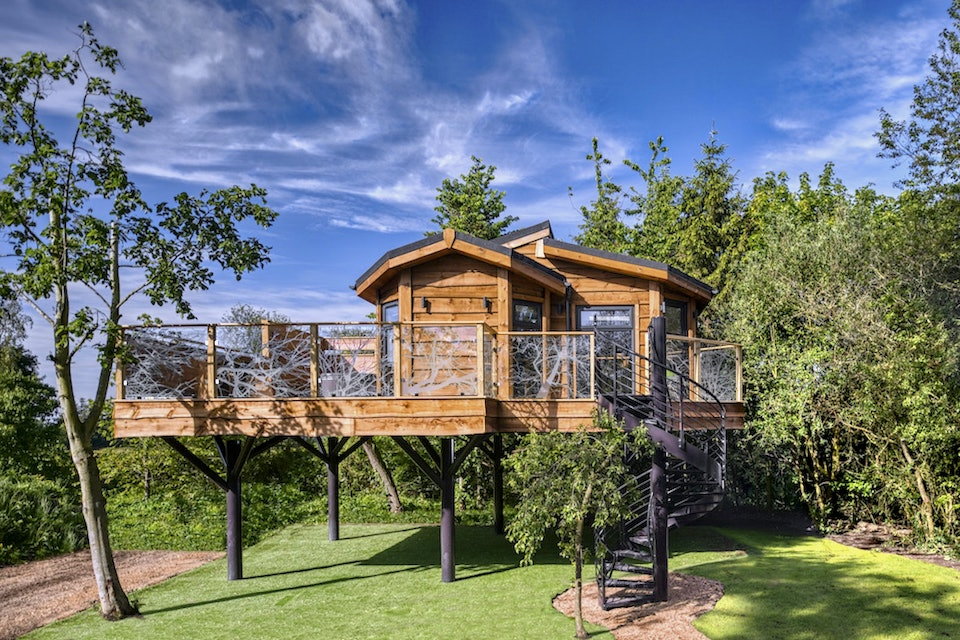 Wolds Edge Treehouse - 21 Unusual Places To Stay in Yorkshire