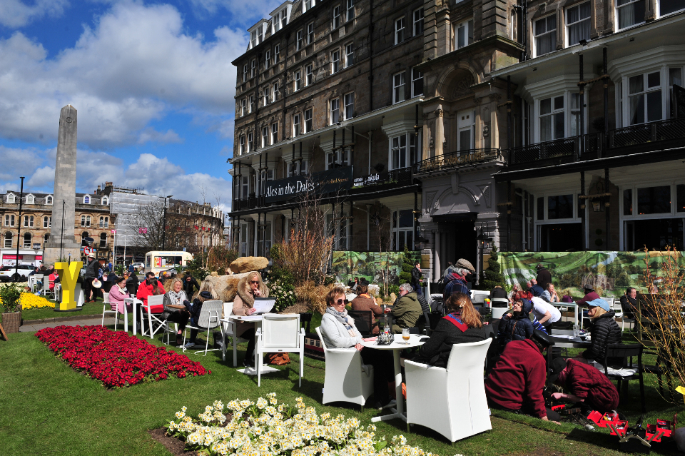 Alfresco dining, Ales In The Dales - The Yorkshire Hotel Harrogate