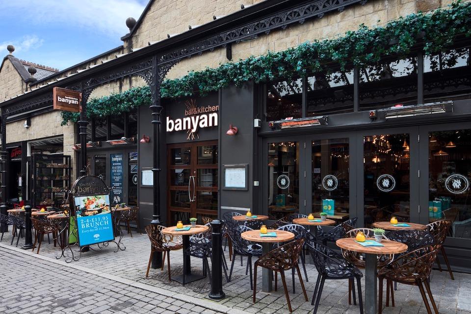 Banyan Harrogate - best beer gardens in Harrogate