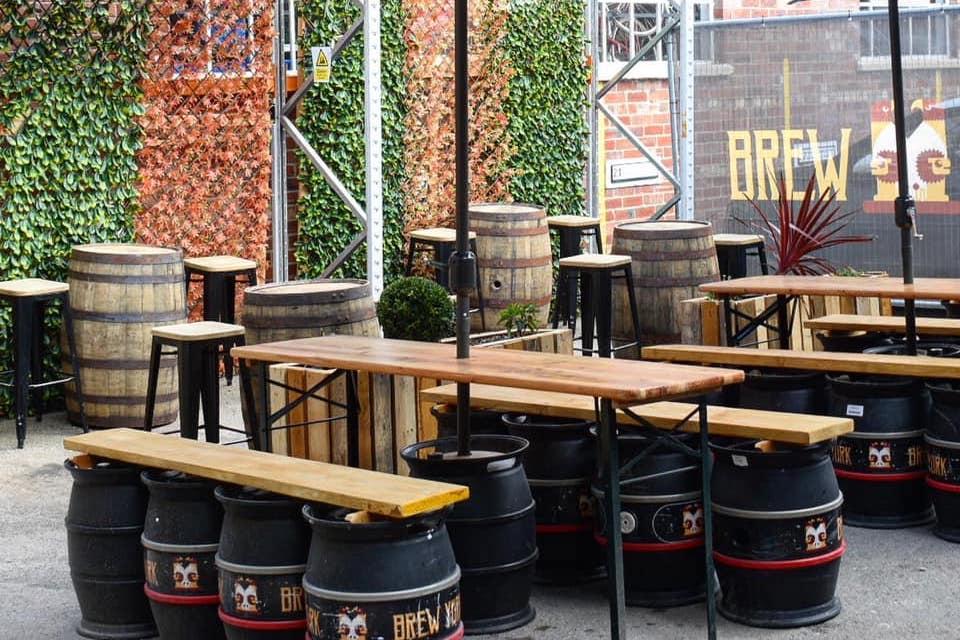 Brew York - best beer gardens in York