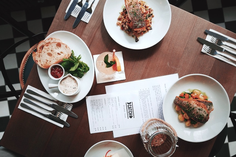 Catch Harrogate seafood dishes