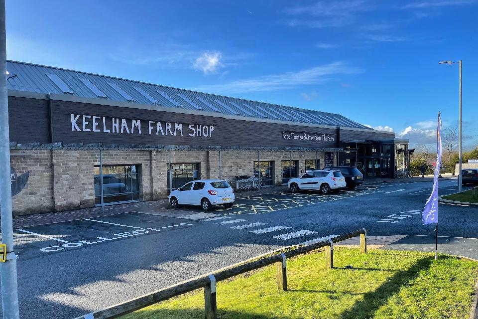 Keelham Farm Shop Outside