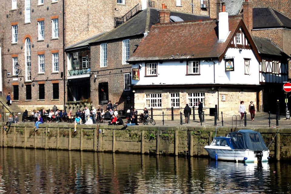 King's Arms York - best beer gardens & pubs in York