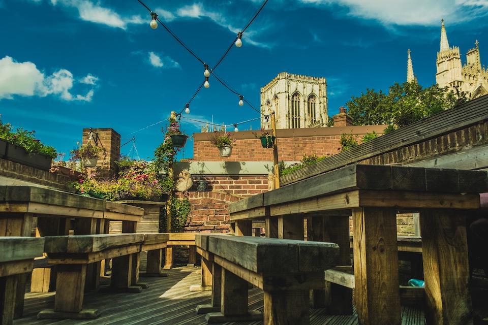 The Habit - best beer gardens in York