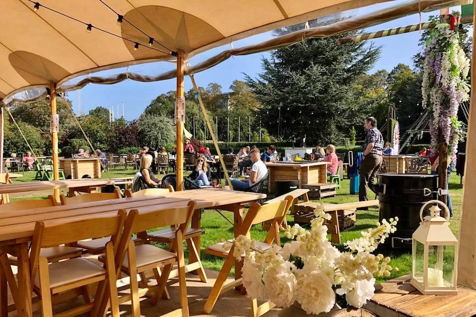 Thors Tipi - Best beer gardens in York