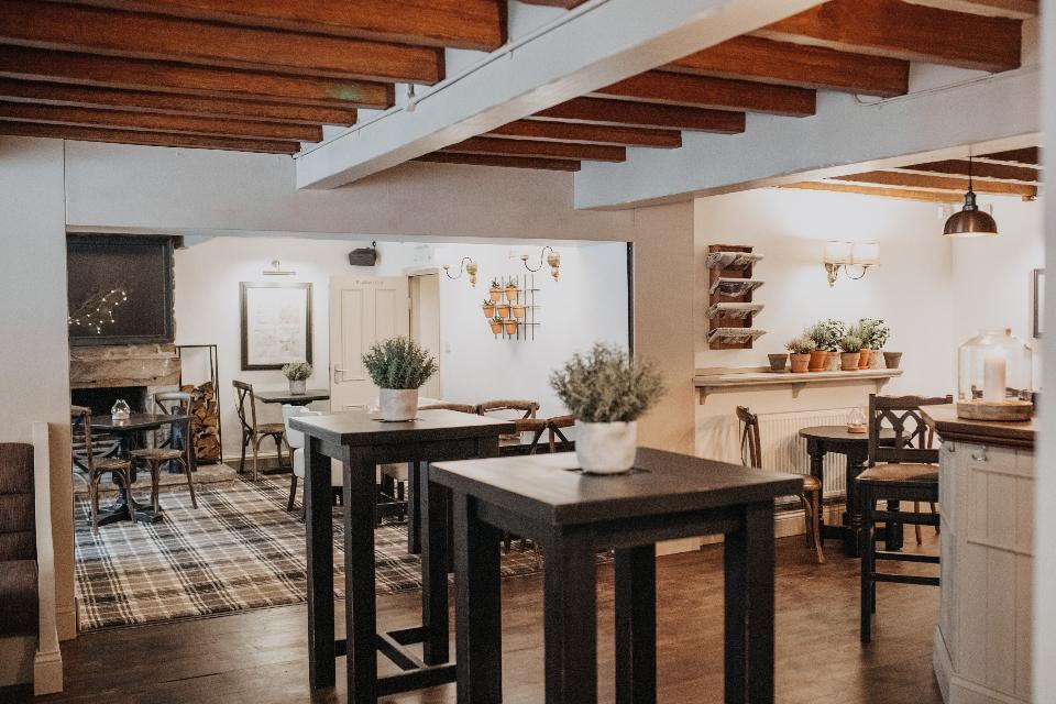 Woodman Inn Thunderbridge pub interior