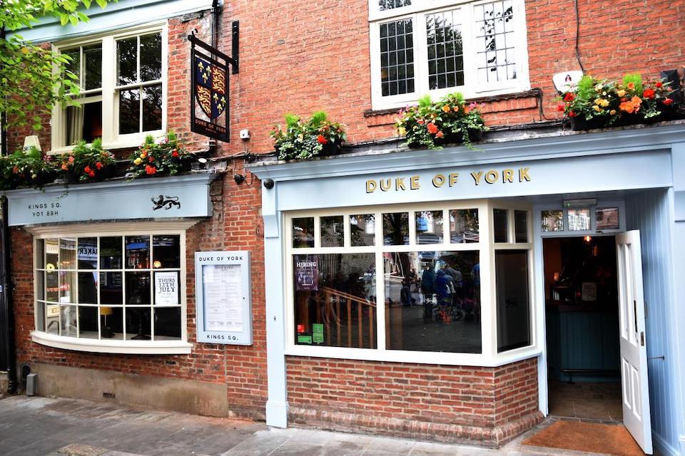 Duke of York exterior - best pubs in York