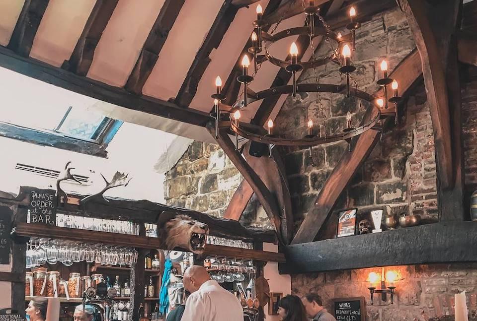 House of Trembling Madness York Pub interior shot