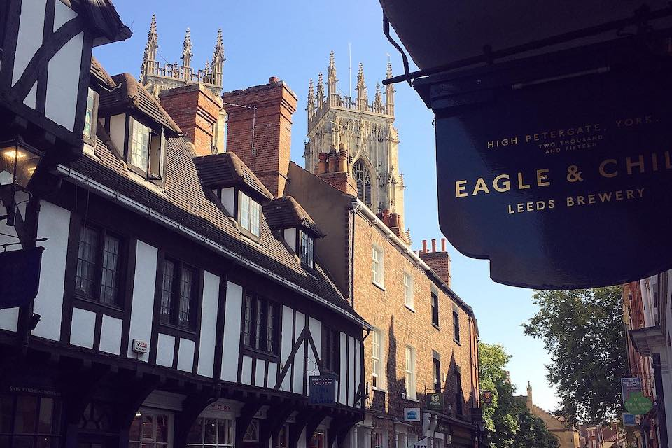 Pubs in York - Eagle and Child