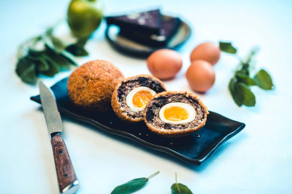 The Cookery School Grand Scotch Egg Class