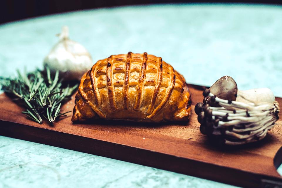 The Grand Cookery School Vegetarian Wellington