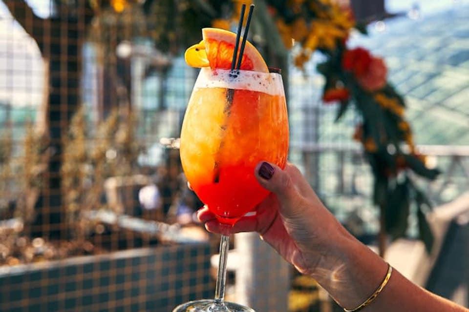 Best cocktails in Leeds - Angelica