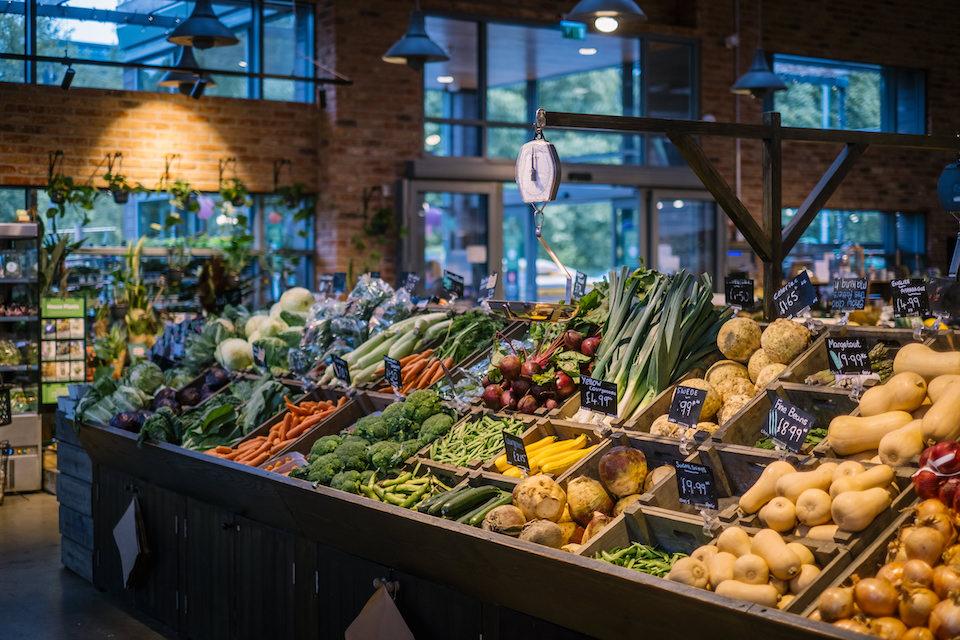 Keelham farm shop - produce
