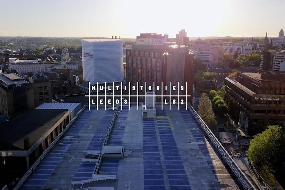 Multistories Merrion Centre - View