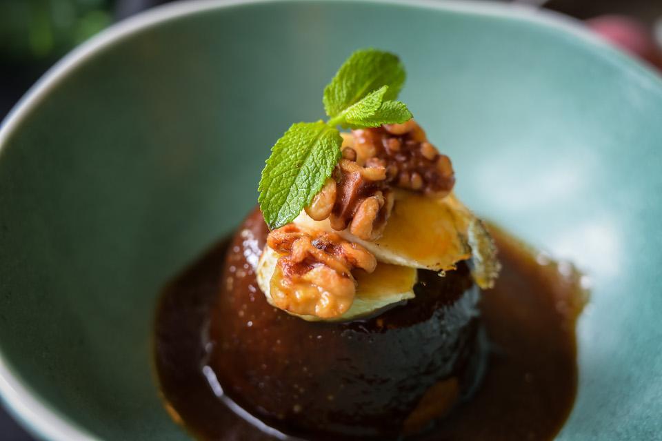 Woodman Inn Thunderbridge sticky toffee pudding copy