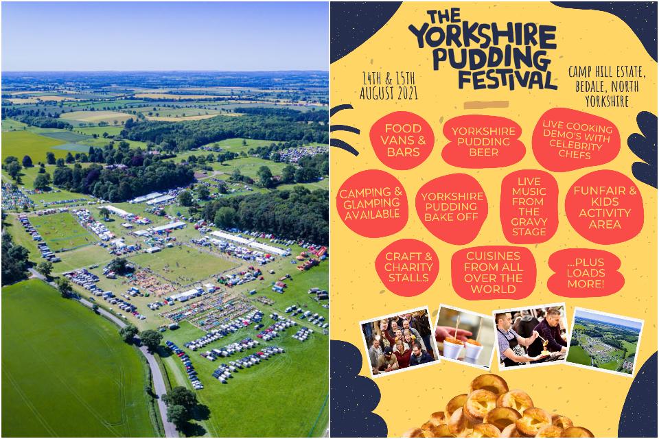 Yorkshire pudding festival