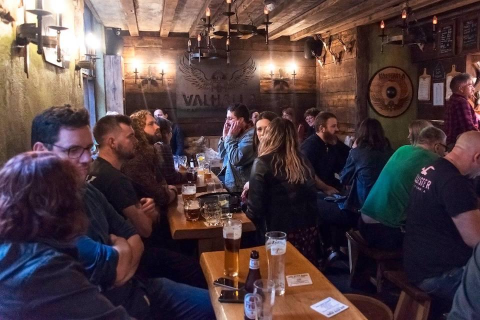 bars in york - valhalla