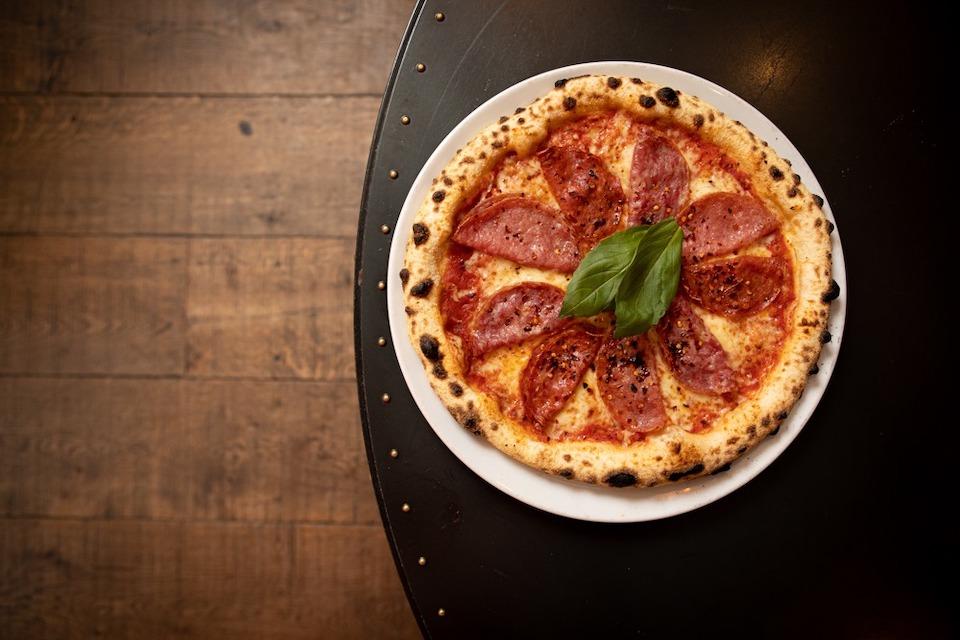 pizza punks leeds - pizza overhead