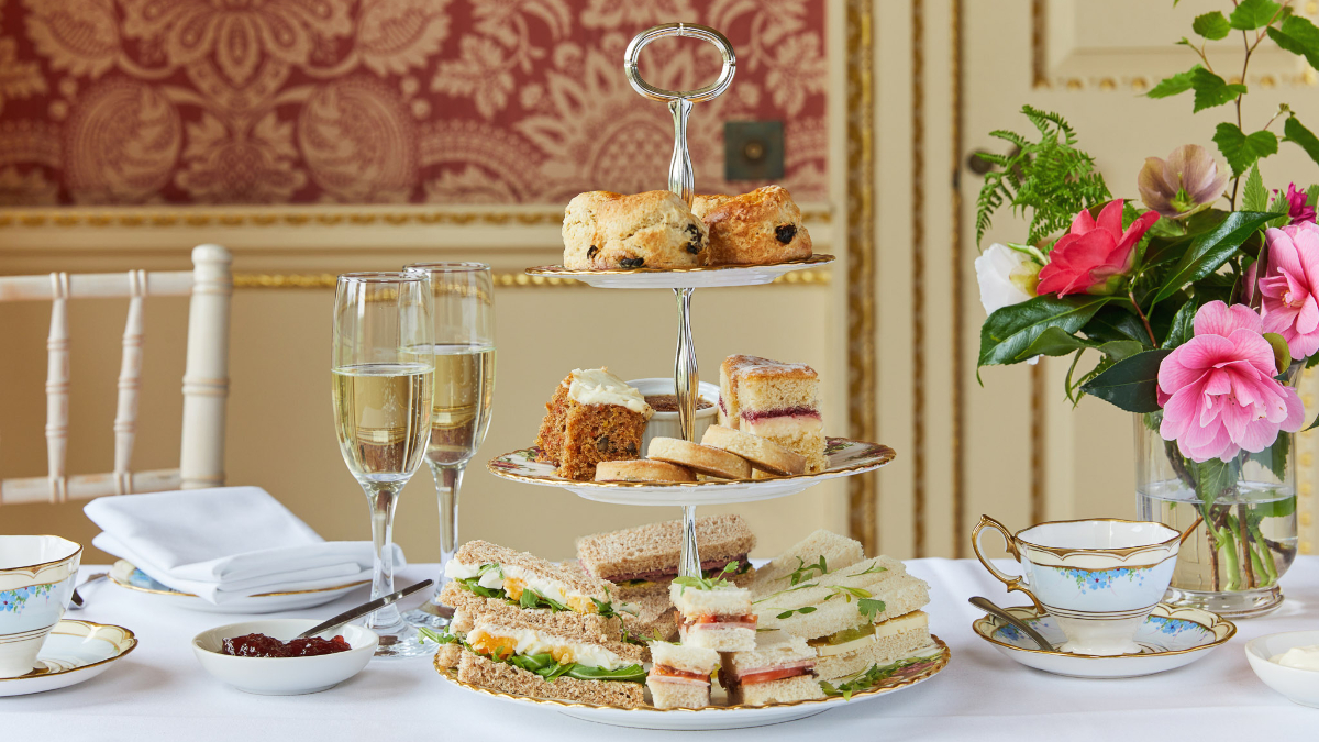 wentworth woodhouse afternoon tea twitter