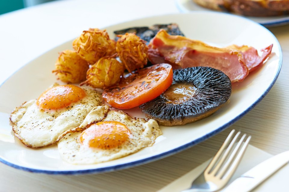 Breakfast at Moss and Moor Ilkley