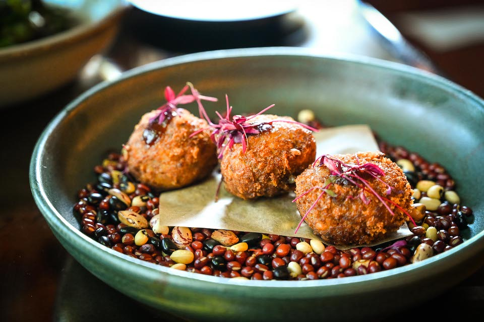 Chophaus Leeds review beef croquettes