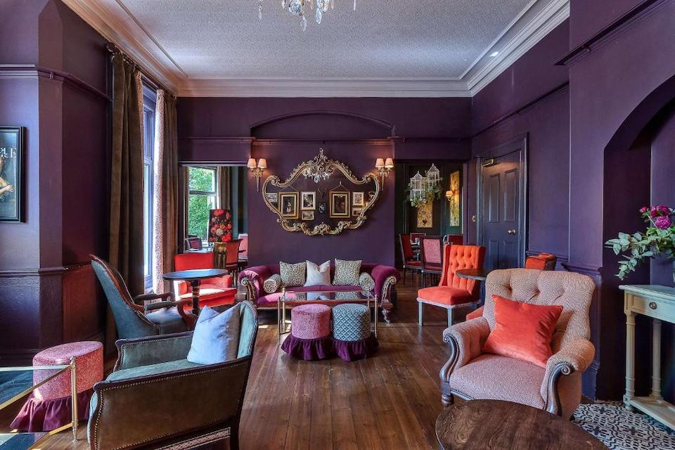 clementine's town house hotel York - lounge