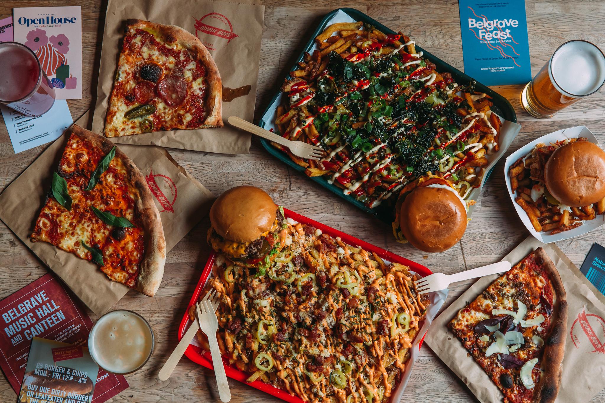 Belgrave Leeds - Food Overhead