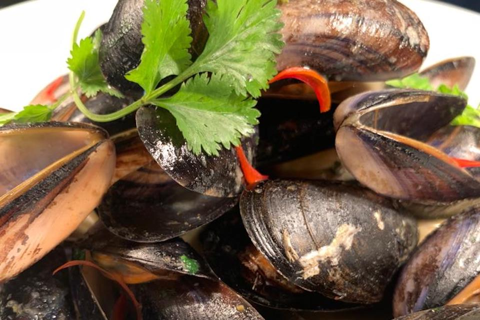 catch seafood leeds - clams