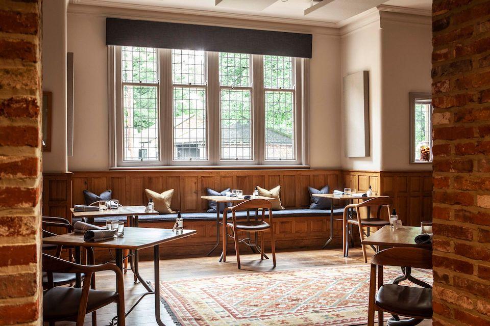 fine dining in york - Roots restaurant interior